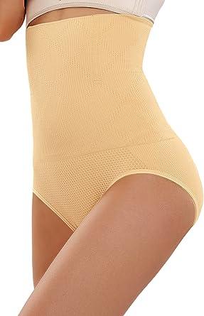 Body Shaper,Black /& Nude M-XL tummy,Bum,Waist Control Ladies High Waist Brief