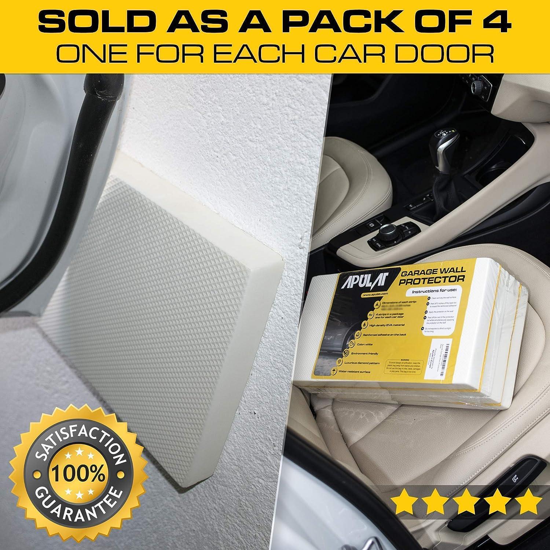 4x Car Garage Wall Corner Parking Protector Door Guard Bumper Self Adhesive Foam