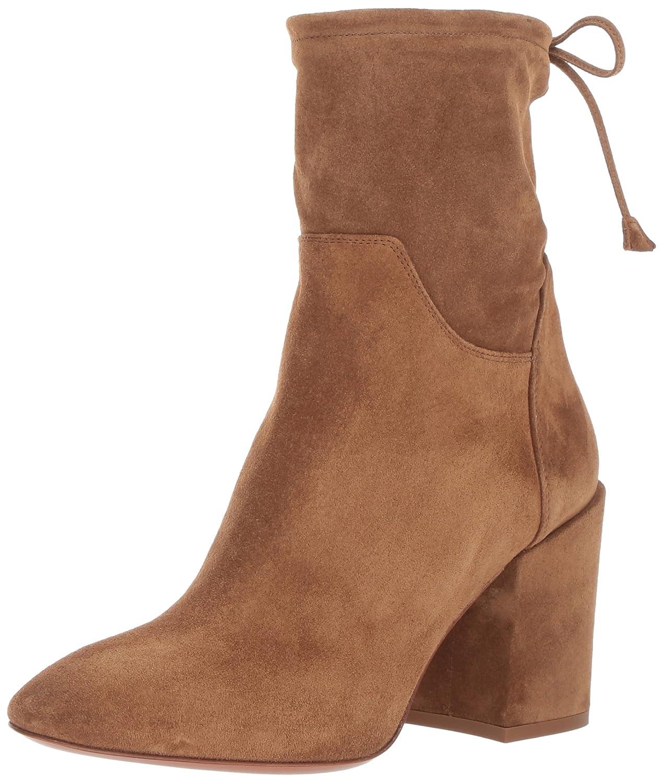 Aquatalia Women's Floria Suede Ankle Boot B06WLKXRD2 8.5 B(M) US|Walnut