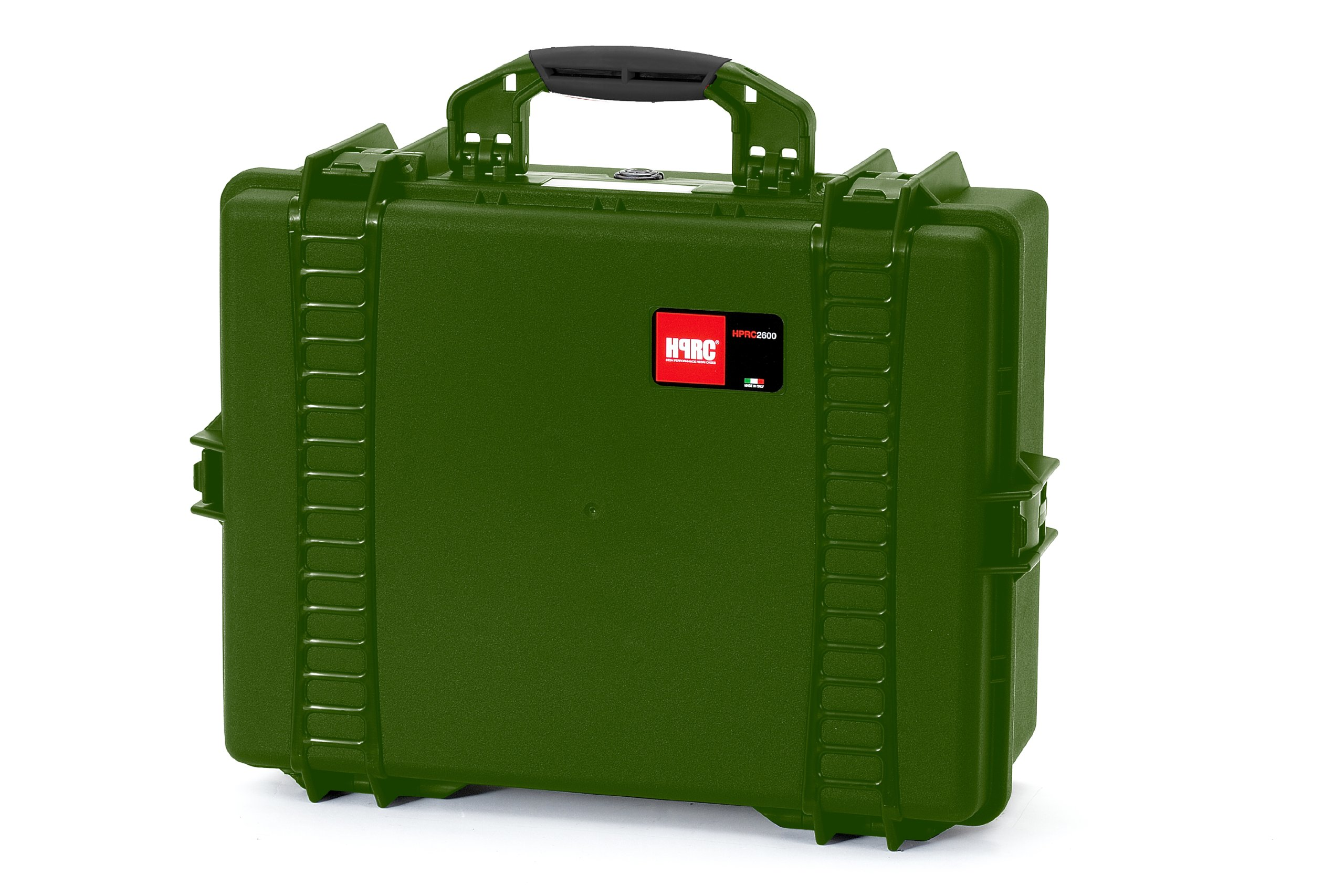 HPRC 2600F Hard Case with Cubed Foam (Olive) by HPRC