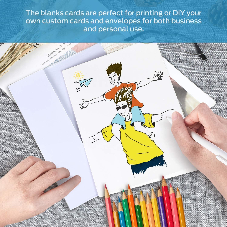 Wedding Thank You Cards • Personalised • Folded  • Includes Envelopes Cartoon