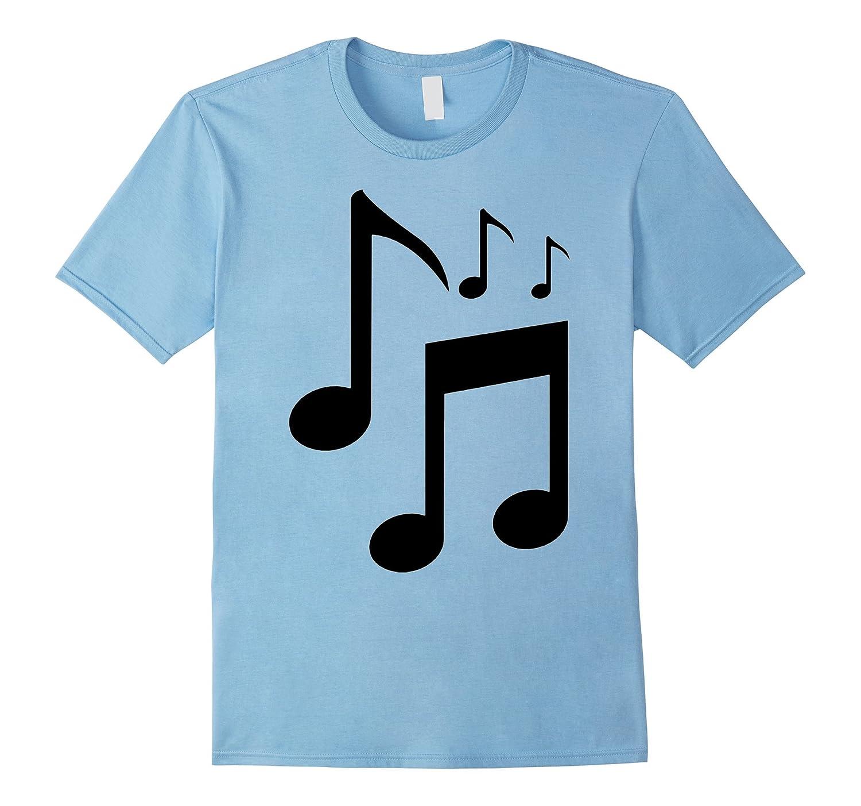 Musical Piano Teacher Choir Gift Music Notes T-Shirt-FL