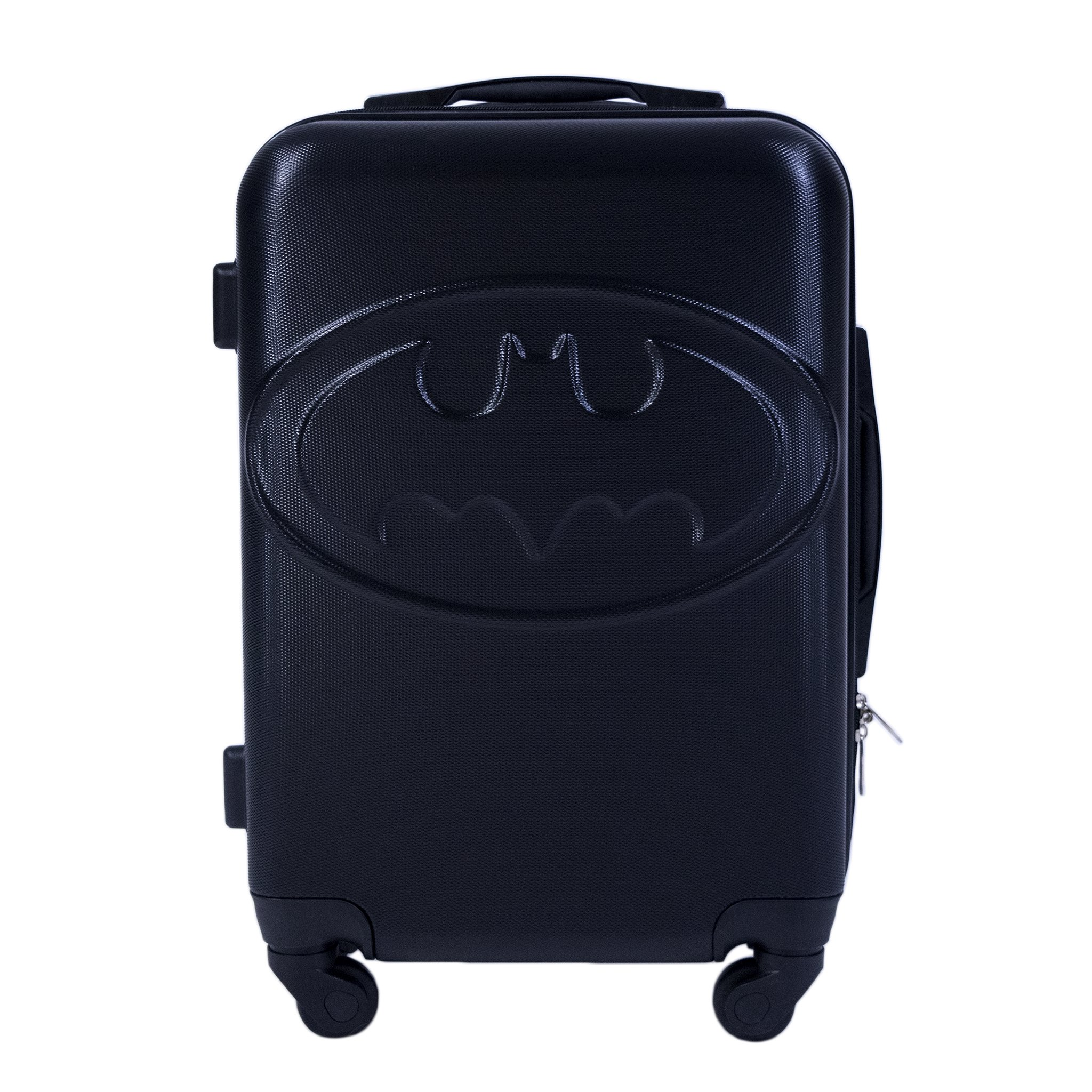Batman 211n Hardsided Luggage Spinner, Black by Ful (Image #1)