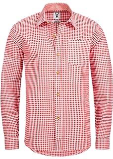 Camisa de estilo bábaro a cuadros en 6 colores diferentes y diseño ajustado: Amazon.es: Ropa y accesorios