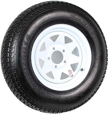14 White Spoke Trailer Wheel With Bias