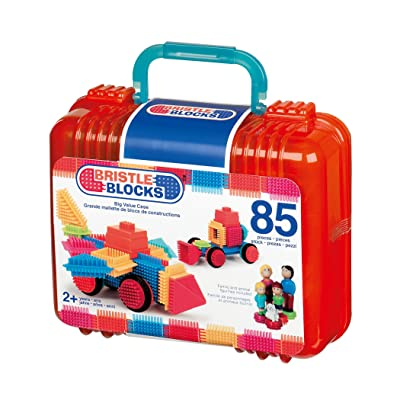 Battat Bristle Block 85-Piece Set: Toys & Games