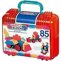 Battat Bristle Blocks Basic Set, 85-Piece Block Construction Set