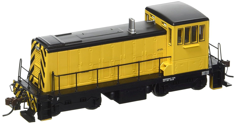 Bachmann GE 70 Tonnen Diesel Painted, Unletterot (gelb und Schwarz Lokomotive, HO Maßstab, DCC On-Board