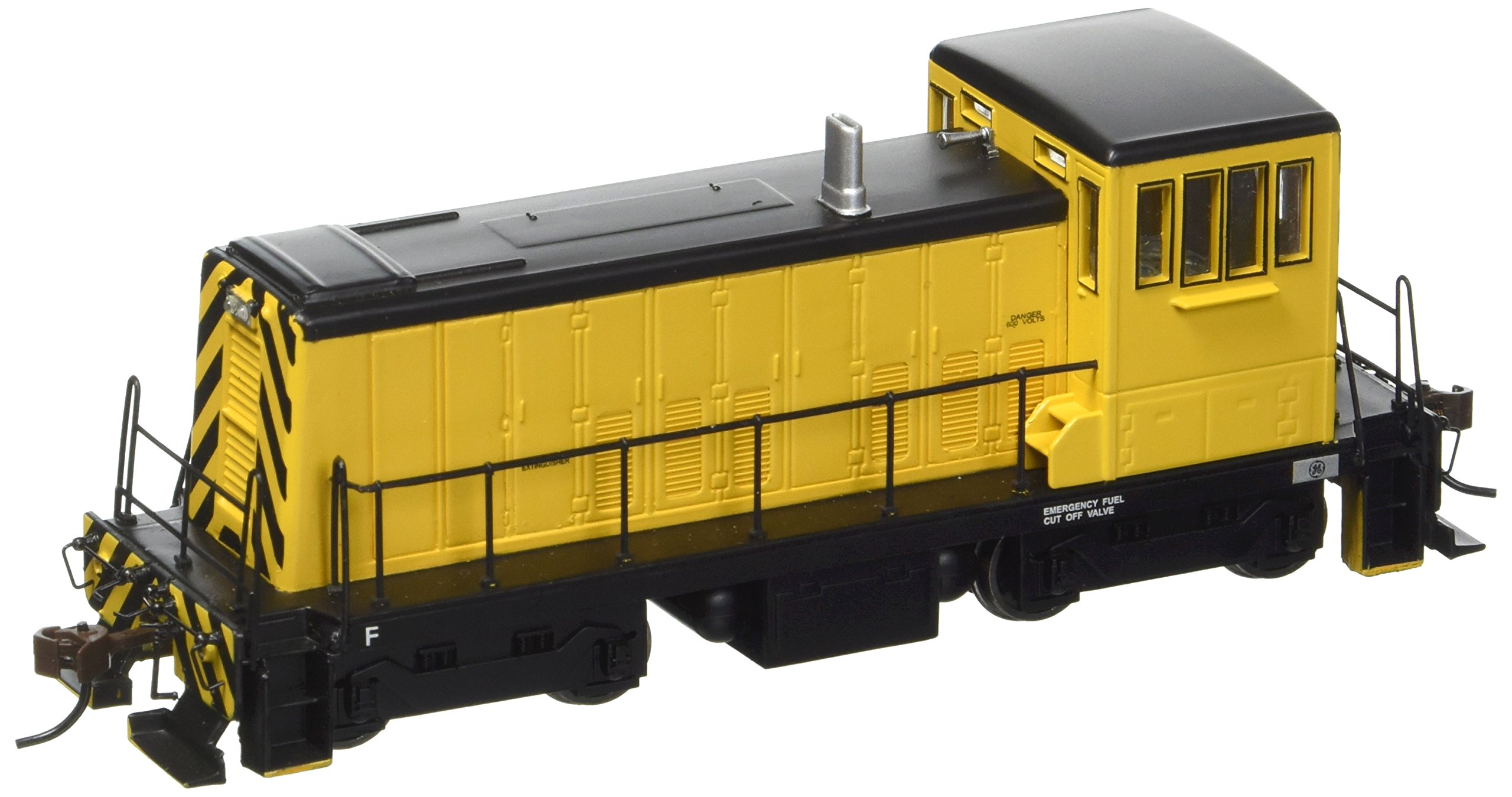 Bachmann GE 70 Ton Diesel Painted, Unlettered (Yellow and Black) Locomotive HO Scale, DCC On-Board