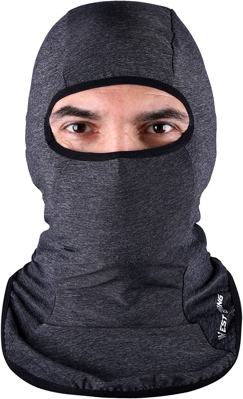 Balaclava Gesicht Mask Dust Uv Protection Lightweight Breathable, Ideal für Outdoor Sports