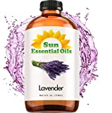 Lavender Essential Oil (Huge 4oz Bottle) Bulk Lavender Oil - 4 Ounce