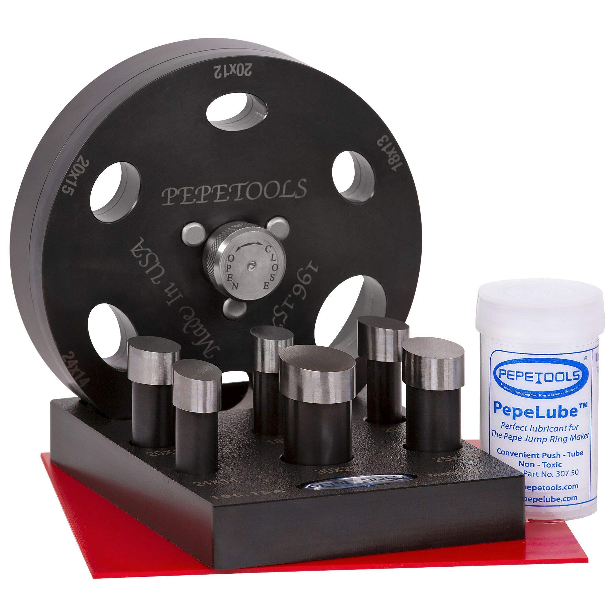 Oval Cabochon Disc Cutter, 6 Sizes Included, Made in The USA by Pepetools