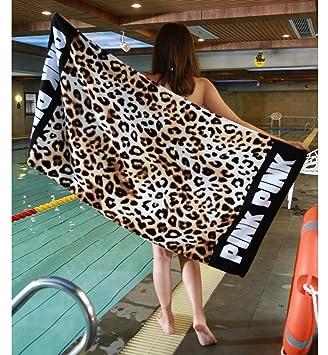 Lecoon Toalla de Playa Toallas de Piscina Hammam Baño Turco Sauna Gym Yoga Natació Grande Algodón 147*71cm: Amazon.es: Deportes y aire libre