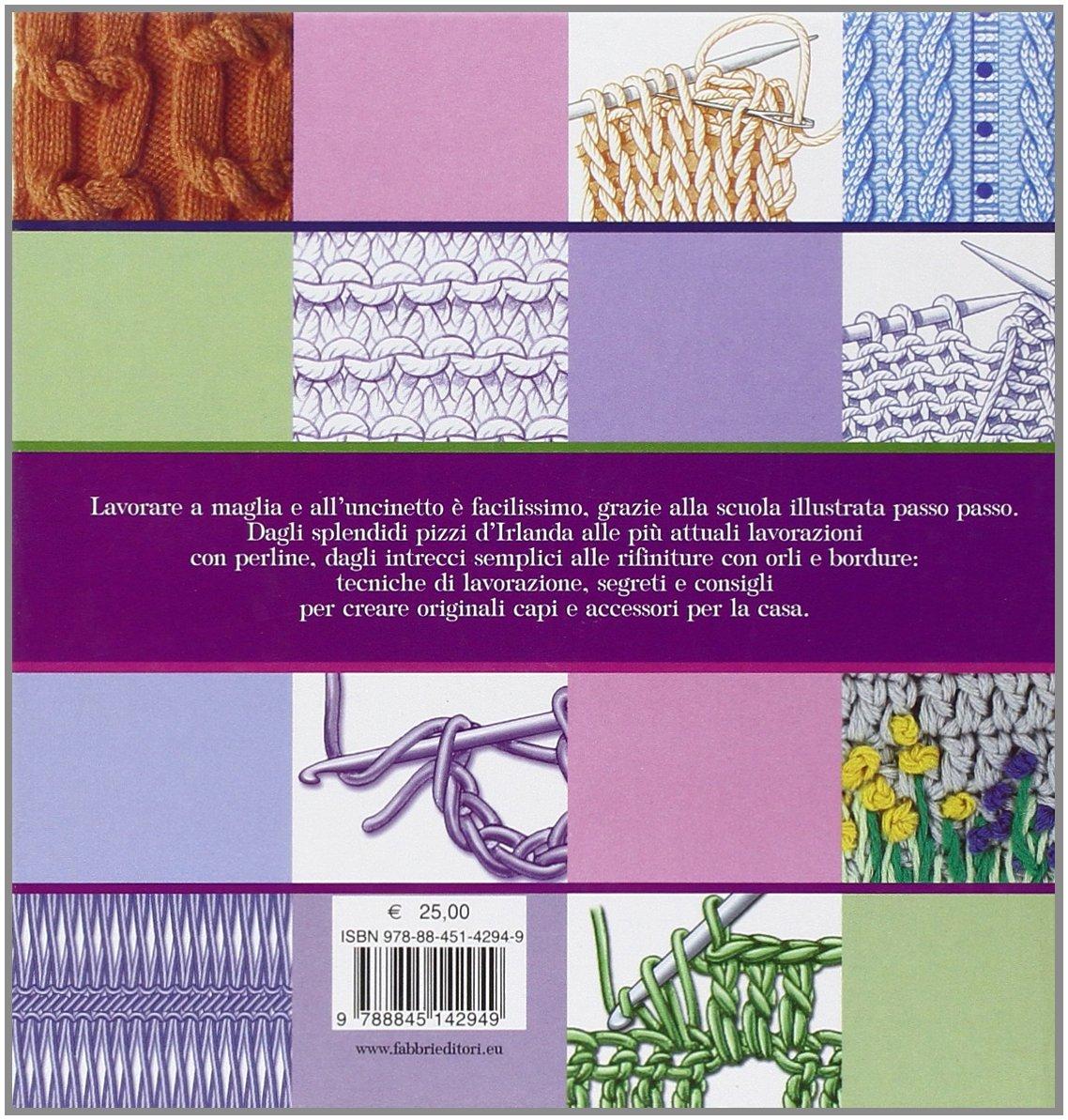 Amazonit Scuola Di Maglia E Uncinetto Ediz Illustrata Libri