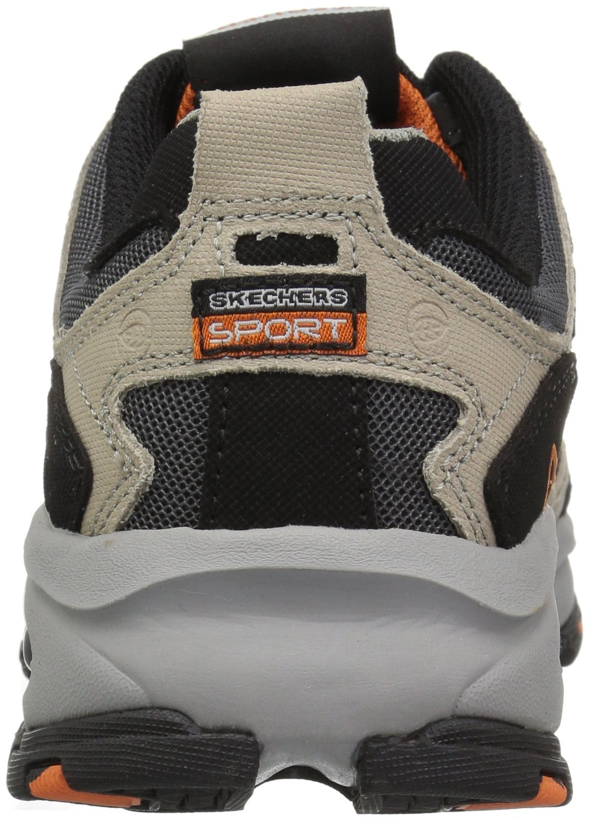 Skechers Sport Men's Vigor 2.0 Trait Memory Foam Sneaker, Taupe/Black, 7 M US by Skechers (Image #2)