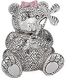 Reed & Barton Silver Plate Girl Bear Bank
