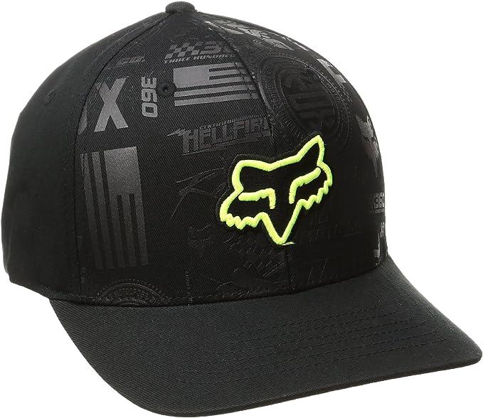 Fox Racing - Gorra de béisbol - sombrero - para hombre negro negro ...