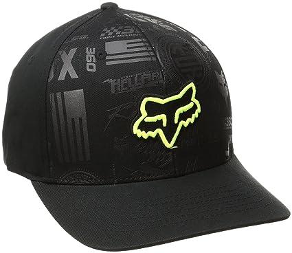 8414ef61106 ... purchase fox racing mens no loss flexfit hat black large x large 37ec6  ccf8e