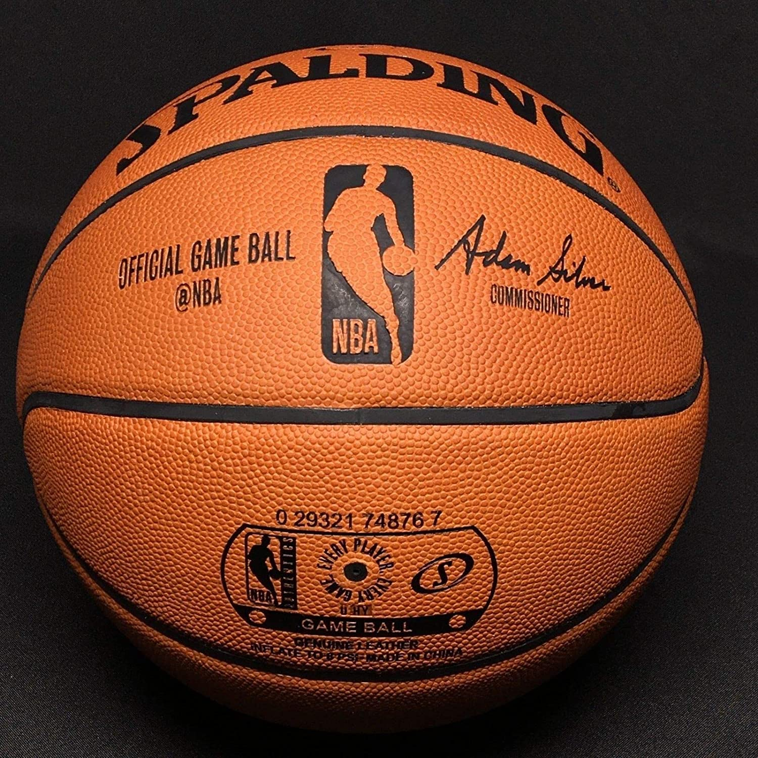 a490f78c2a6 Allen Iverson Autographed Signed Autograph Nba Spalding Game Basketball Hof  2K16 PSA/DNA 52463 at Amazon's Sports Collectibles Store