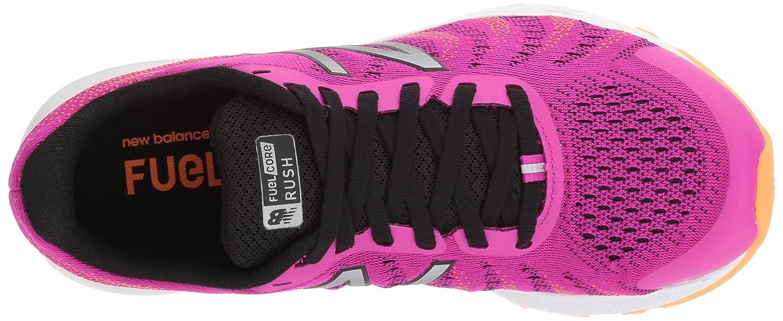 New Balance Women's Rushv3 Running-Shoes B01MYPGNWM 6 B(M) US|Poisonberry/Black