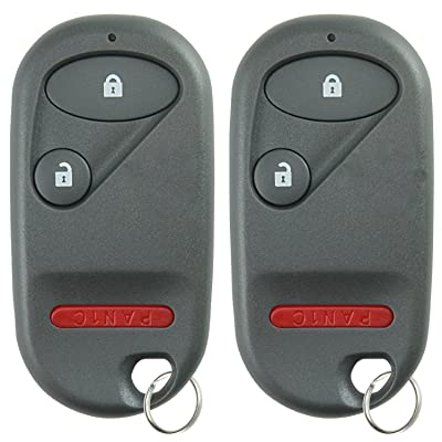 KeylessOption Keyless Entry Remote Control Car Key Fob Clicker Replacement for OUCG8D-344H-A (Pack of 2): Automotive