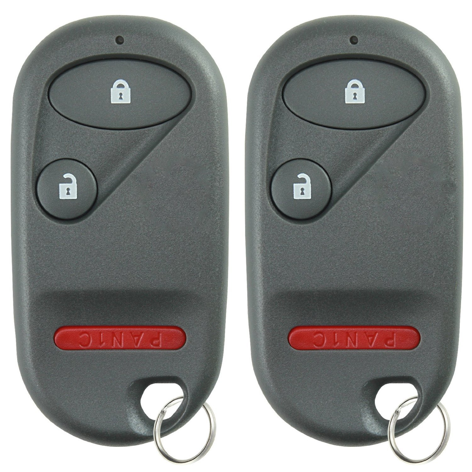 KeylessOption Keyless Entry Remote Control Car Key Fob Clicker Replacement for OUCG8D-344H-A Pack of 2