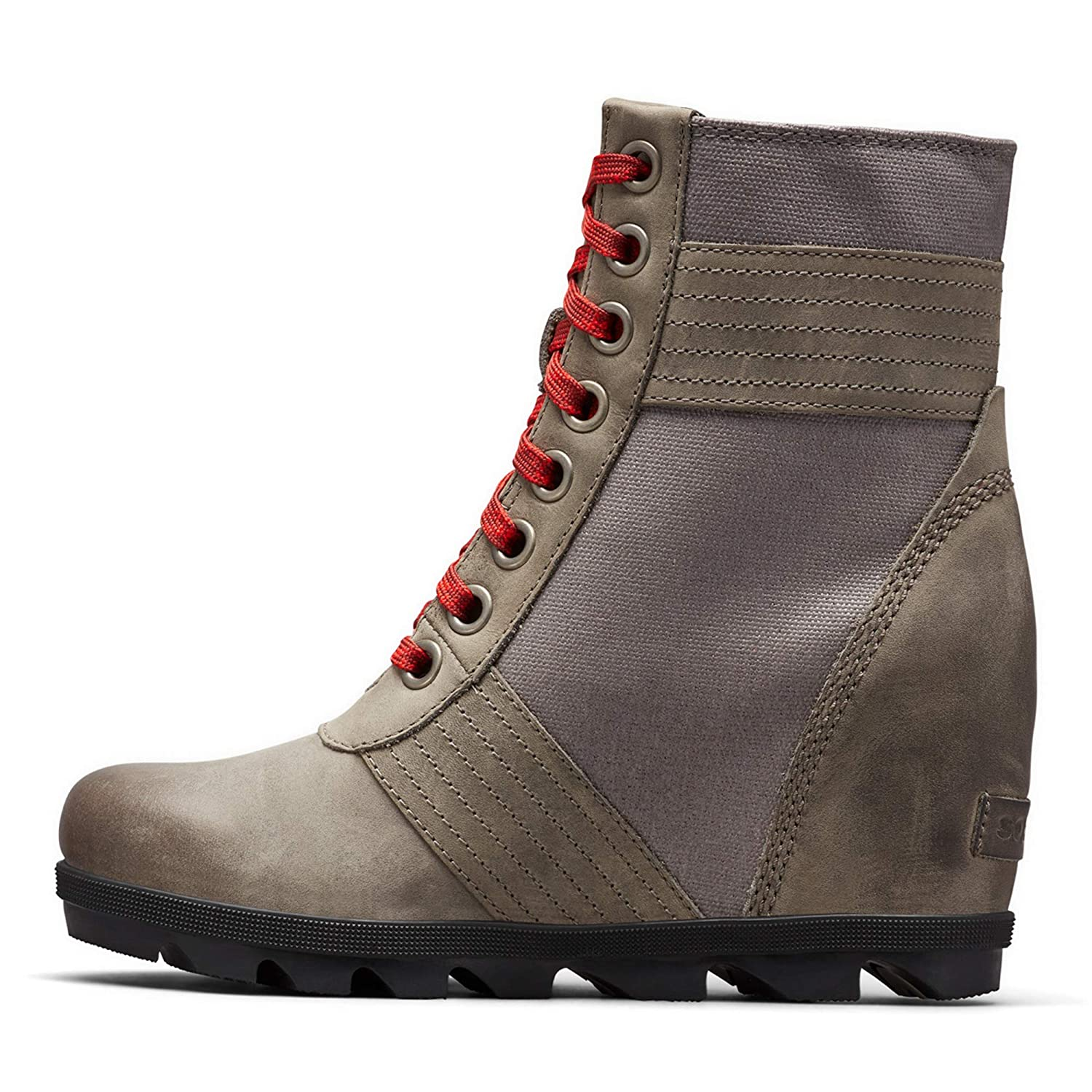 Womens Lexie Wedge Waterproof Lace-Up Ankle Boot SOREL