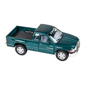 Amazon Com Dodge Ram 1500 V8 Truck 5 Inch Die Cast Toy Green Toys
