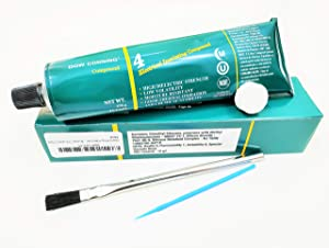 Dow Corning 4 Electrical Insulating Compound 5.3 Oz Tube with 2 Applicator Brushes and 1 Compressed Wipe - THE SAVVIE STORE