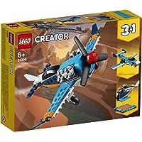 LEGO Creator 31099 Propeller Plane Building Kit (128 Pieces)