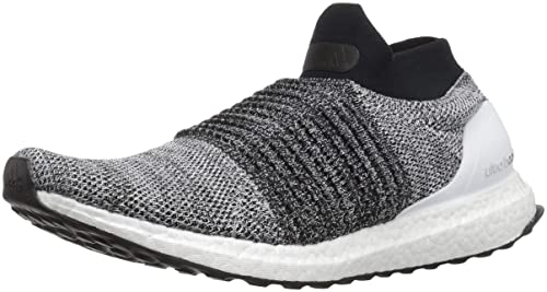 adidas - Ultraboost Senza Lacci da Uomo, (Core Black/Footwear White),