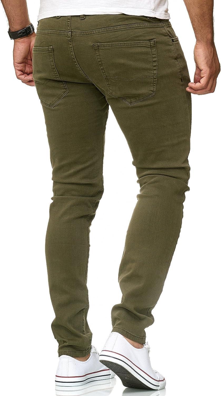 Red Bridge Herren Jeans Hose Slim-Fit R/öhrenjeans Denim Colored
