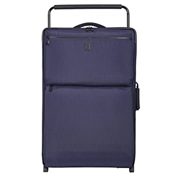 14c201631 it luggage World's Lightest Los Angeles 32.4 inch Upright, Blue/Navy 2 Tone