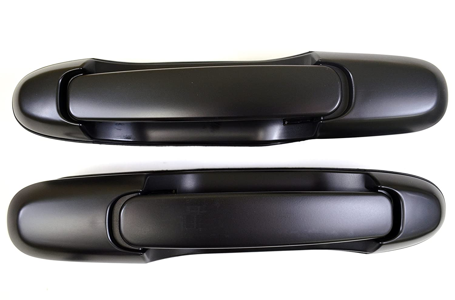 Exterior Sliding Door Handle Smooth Black Pair Set for 98-03 Sienna New