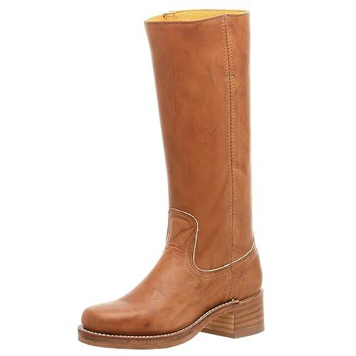 56b38b69 FRYE Campus, Botas Camperas para Mujer: Amazon.es: Zapatos y complementos