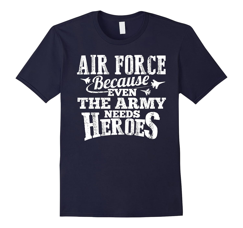 Air Force Shirt - Short Sleeve Gray T Shirt-Vaci