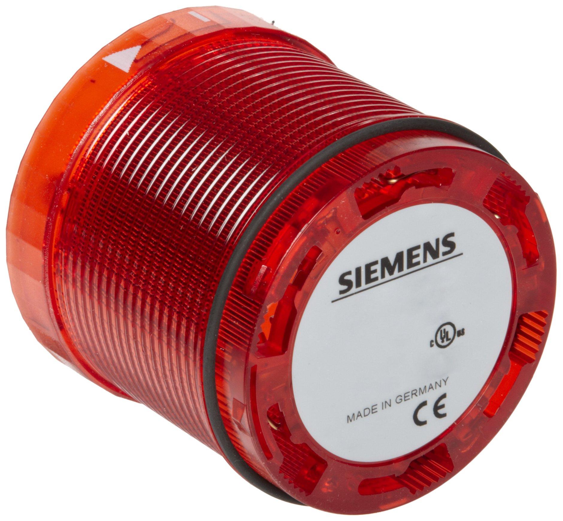 Siemens 8WD44 00-1AB Sirius Signal Column, Thermoplastic Enclosure, IP65 Protection, 70mm Diameter, Steady Light Element,