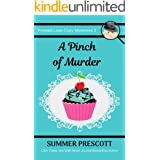 A Pinch of Murder (Frosted Love Cozy Mysteries Book 2)