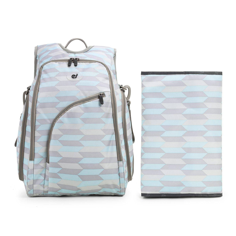 Ecosusi/ luz azul 2/piezas. /Bolsas de cambiador de beb/é//Mochila con bolsillo trasero antirrobo