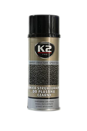 Structure Black Bumper TEXTURED SPRAY for Plastic FAST DRYING Paint