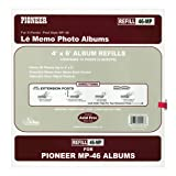 Pioneer Memo Pocket Album Refill 4-Inch by 6-Inch