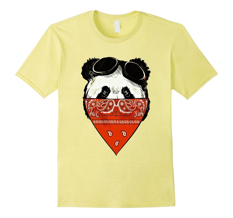 9a392fd18 Gangster panda shirt – Funny Panda Gifts – funny panda shirt-CD ...