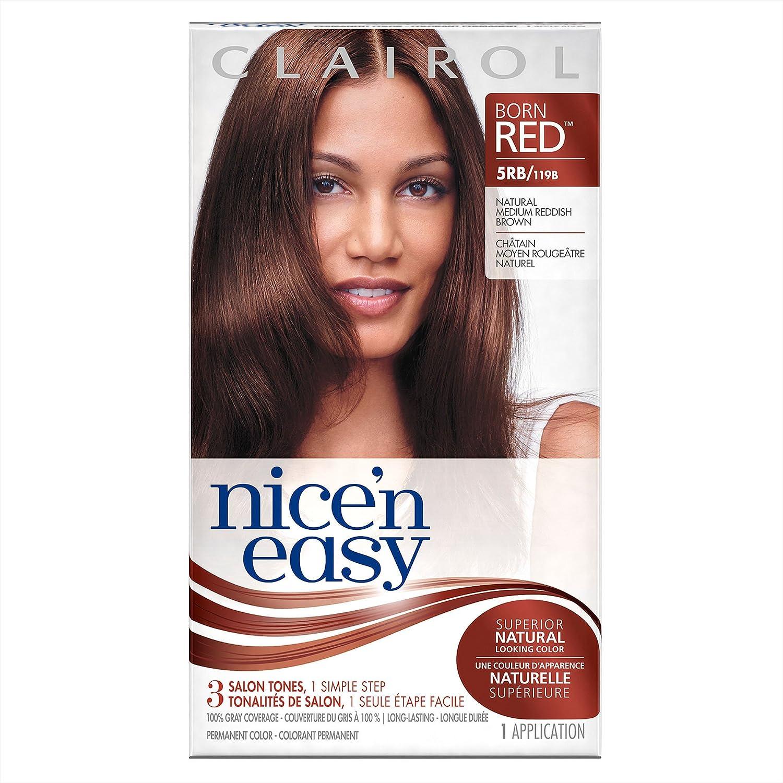 Amazon Com Clairol Nice N Easy Hair Color 119b 5rb Medium