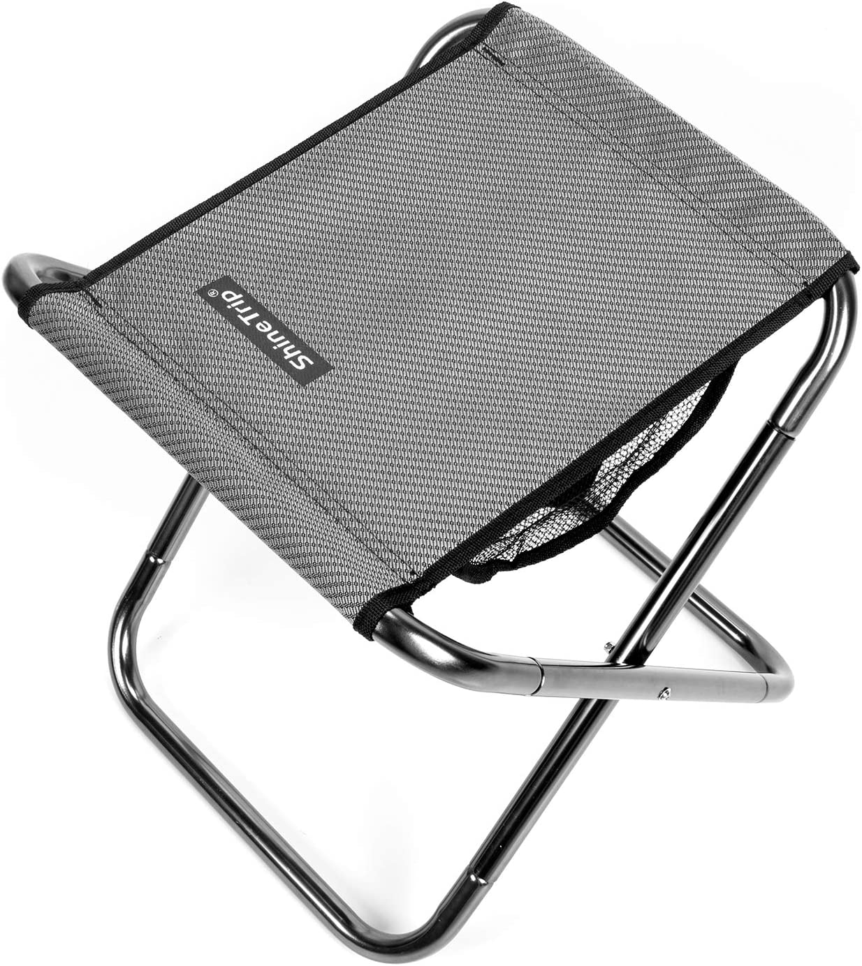 Small Folding Stool Portable Chairs,Outdoor Camping Stool Foldable,Lightweight Aluminum Fishing Seat Footstool Folding Chair for Camping,Hiking, Fishing,Barbecue,Travel, Garden,Picnic