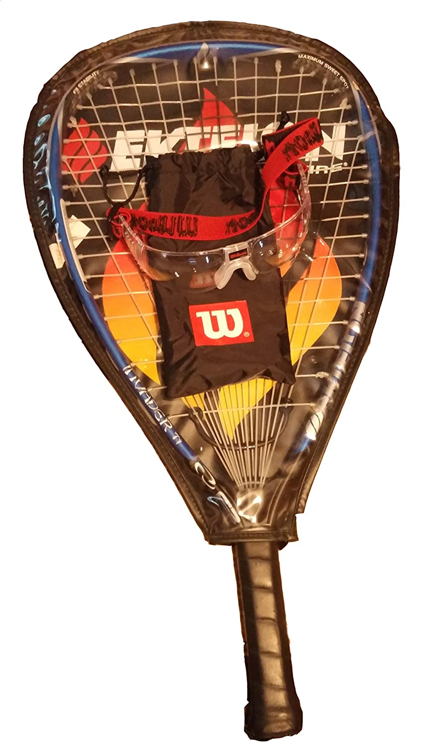 Amazon.com: Ektelon racquetball raqueta F3 Invader Ti 925 ...