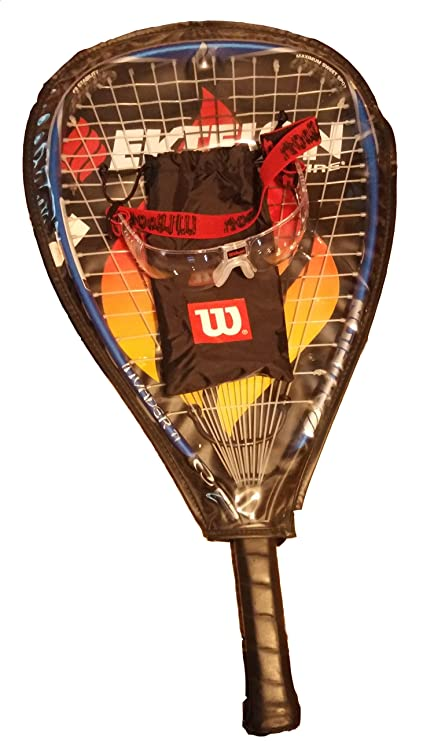 Amazon.com: Ektelon racquetball raqueta F3 Invader Ti 925 ...