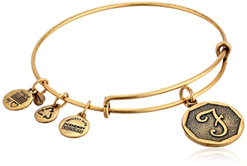 "Alex And Ani Initial Expandable Wire Bangle Bracelet, 2.5"" by Alex And Ani"