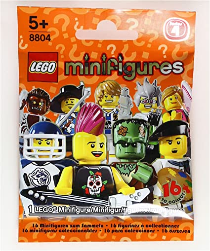 LEGO 8683 Complete Set of 16 Minifigures Series 1 New