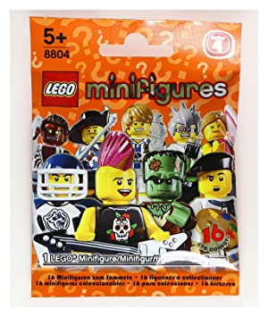 8804 New LEGO Minifigures Series 4 Street Skateboarder Guy  Open Package