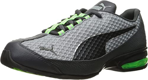 | PUMA Men's Reverb Mesh Running Shoe, Quarry